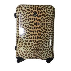 Heys Leopard Print Suitcase NWT